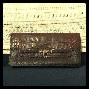 Brighton black and brown leather wallet